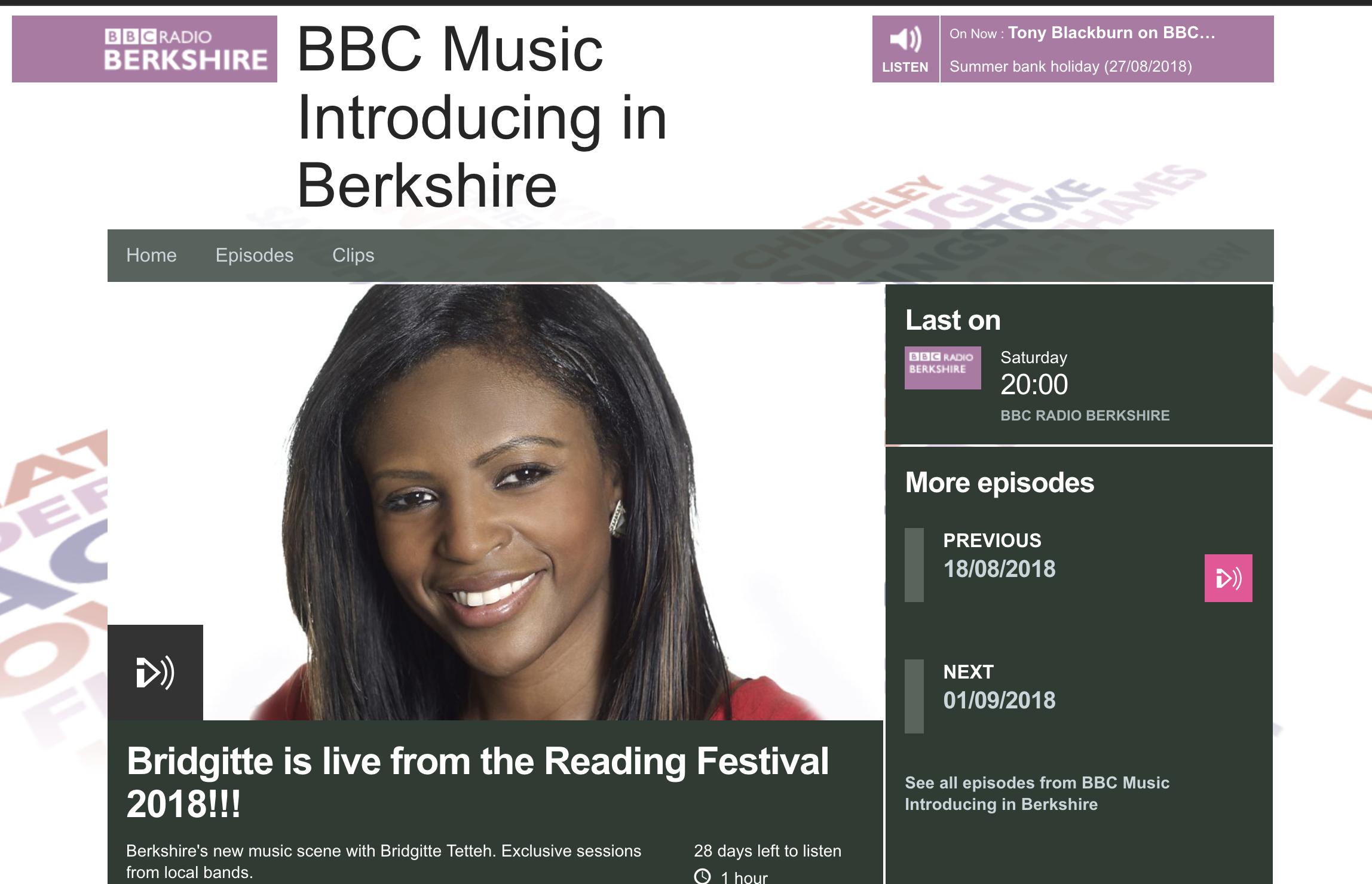 BBC introducing plays Ripples