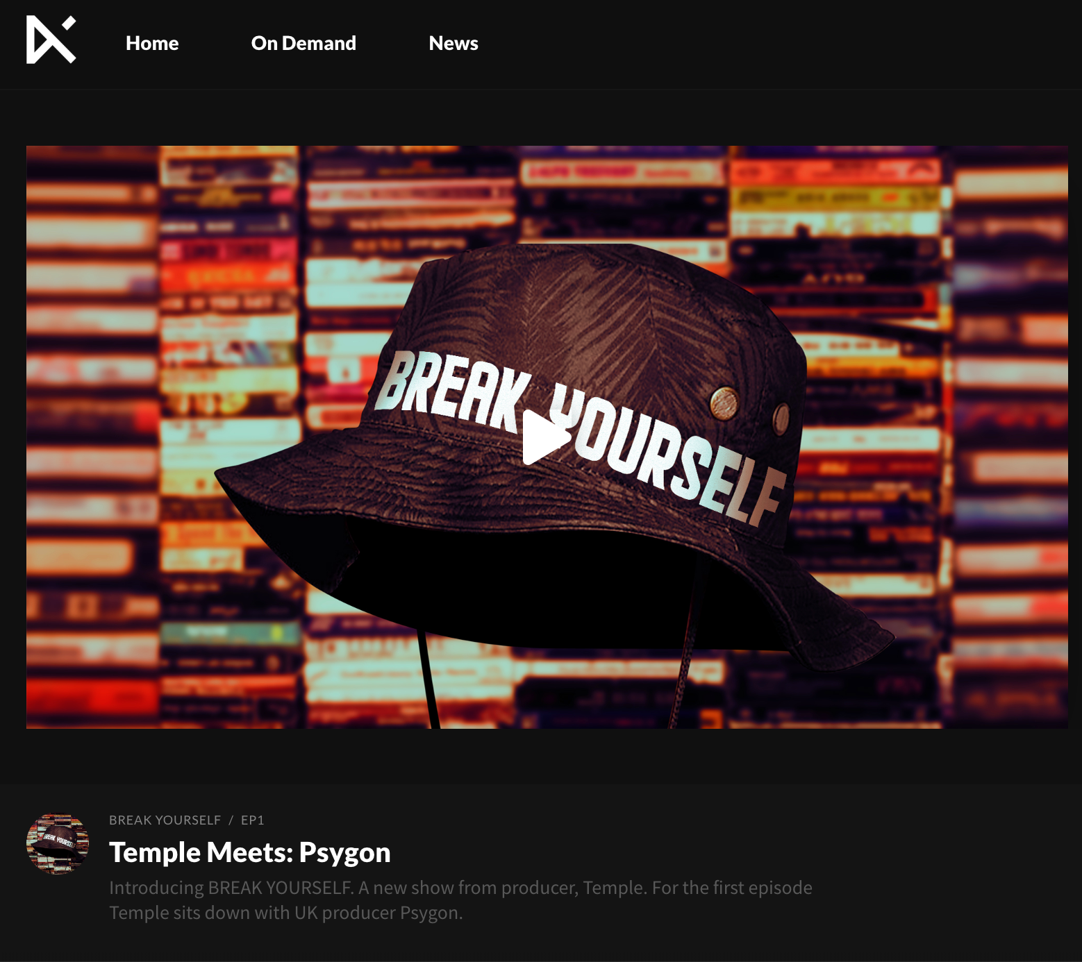 Break Yourself – Temple's Hip Hop podcast on Keakie