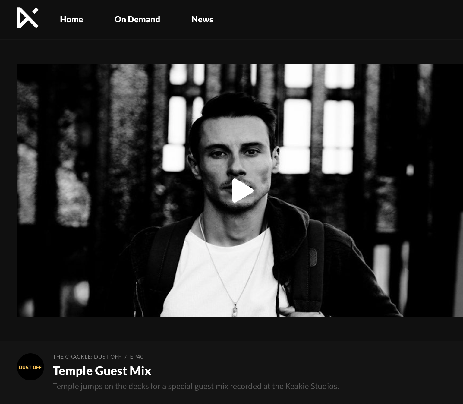 The Crackle – Temple Guestmix